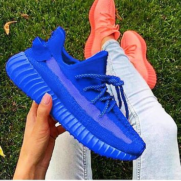 Vsgirlss ADIDAS YEEZY 350 BOOST Shoes Pink SHOES SPORTS SNEAKERS Blue