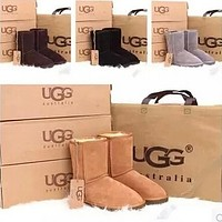 UGG Women male Fashion Wool Snow Boots Tagre™