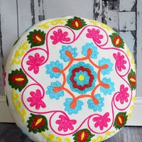 Yoga Meditation Bohemian Pouf Floor Boho Pillow