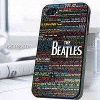 iPhone case,Samsung Galaxy,Cover,Skin,iPod Touch,Galaxy Note2/3,Trends,October,November,Winter-17914,3,Colorful,lyric,the,Beatles,word
