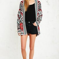 Staring at Stars Chevron Mex Cardigan - Urban Outfitters