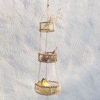 Handmade Hanging Sun Basket at General Store