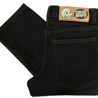 Cheap Monday Tight Super Stretch Black Skinny Jeans