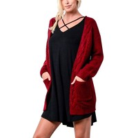 Long Sleeve Knitwear Cardigan Sweaters