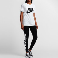 """NIKE"" Fashion Casual Letter Print Women Round Neck Short Sleeve T-shirt Tops"