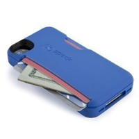 Speck Products SPK-A1354 SmartFlex Card for iPhone 4S - 1 Pack - Retail Packaging - Cobalt Blue