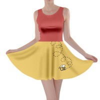 Winnie the Pooh Inspired Skater Dress