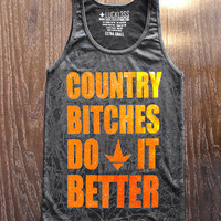 Luckless Clothing Co | Sunset Camo™ Country Bitch