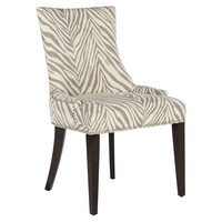 Hayward Dining Chair, Cream/Gray