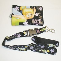 Disney Tinker Bell Lanyard with Detachable Coin Purse