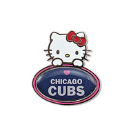 MLB Chicago Cubs Hello Kitty Peeking Pin