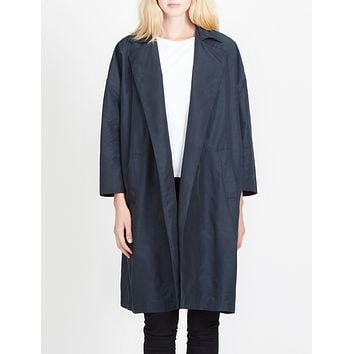 Lightweight Oversized Open Front Trench Coat (CLEARANCE)
