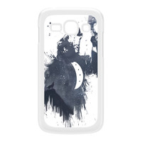Wolf Song 3 White Hard Plastic Case for Galaxy Ace 3 by Balazs Solti
