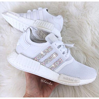 Tagre™ Adidas NMD Fashion Glittering Breathable Running Sports Shoes Sneakers