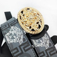 Versace printed figure buckle belt hot seller of casual belts for men and women #5
