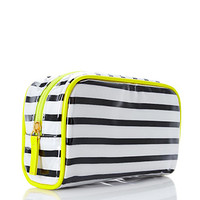 Striped Midsize Cosmetic Bag
