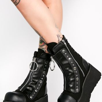 Ready To Rumble Platform Boots