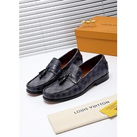 lv louis vuitton men fashion boots fashionable casual leather breathable sneakers running shoes 730