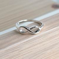 Infinity Personalized Ring Sterling Ring .925 Silver Ring