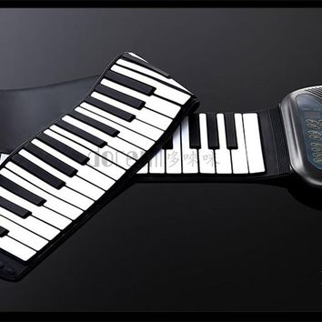 Professional Folding Piano rolled Silicone S-288