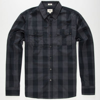 Ambig Tristan Mens Shirt Black  In Sizes