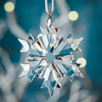 Swarovski Little Crystal Snowflake Christmas Ornament