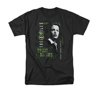 The X-Files Scully Trust No One Black T-Shirt