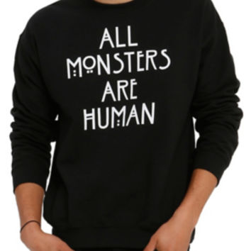 American Horror Story All Monsters Are Human Crew Pullover