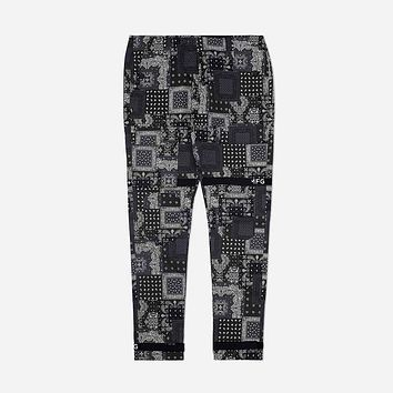 Strapped Up Vintage Washed Utility Pants Paisley
