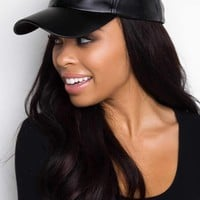 Alabama Shakes Pleather Hat - Black