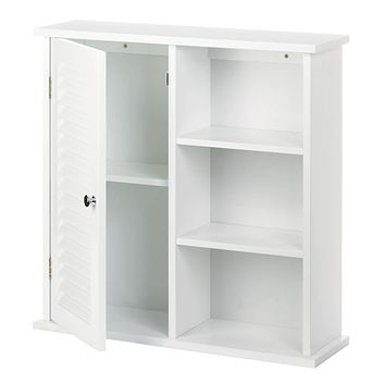 Wall Cabinet with Open Shelves