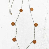 Ax + Apple Fortuna Coin Necklace- Assorted One