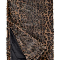 Panther Couture Faux Fur Throw Blanket by Fabulous Furs
