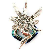 Sterling Silver Fairy Pendant