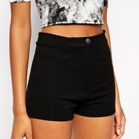 ASOS High Waisted Stretch Shorts