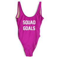 Squad Goals One Piece Swimsuit