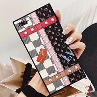 Perfect LV Louis Vuitton Fashion iPhone Phone Cover Case For iphone 6 6s 6plus 6s-plus 7 7plus 8 8plus X