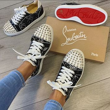 Christian Louboutin 2020 Fashion Casual Shoes Sneaker