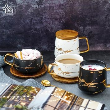 Nordic Style Marble Series Coffee Cup