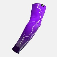 Purple Lightning Arm Sleeve