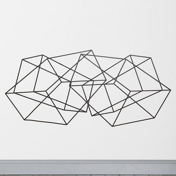 Geometric Wall Decal - Urban Outfitters