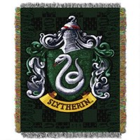 Exclusive Slytherin Crest Tapestry Throw | WBshop.com