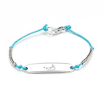 Chappie - Nantucket - Teal/Silver