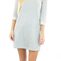 argus french terry shift dress