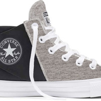 Converse Chuck Taylor All Star High Top Sloane Neoprene Shoes for Women in Black and Mouse Grey 553275C