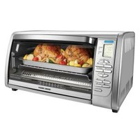 BLACK+DECKER 6-Slice Digital Convection Toaster Oven in Stainless Steel CTO6335S at The Home Depot - Mobile