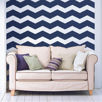 """6"""" Wide Chevrons Wall Decals"""
