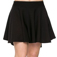 High Low Skater Skirt