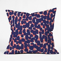 Rebecca Allen Bem Bem Throw Pillow
