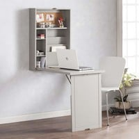 Harper Blvd Raeburne Fold-Out Convertible Wall Mount Desk - Gray | Overstock.com Shopping - The Best Deals on Desks